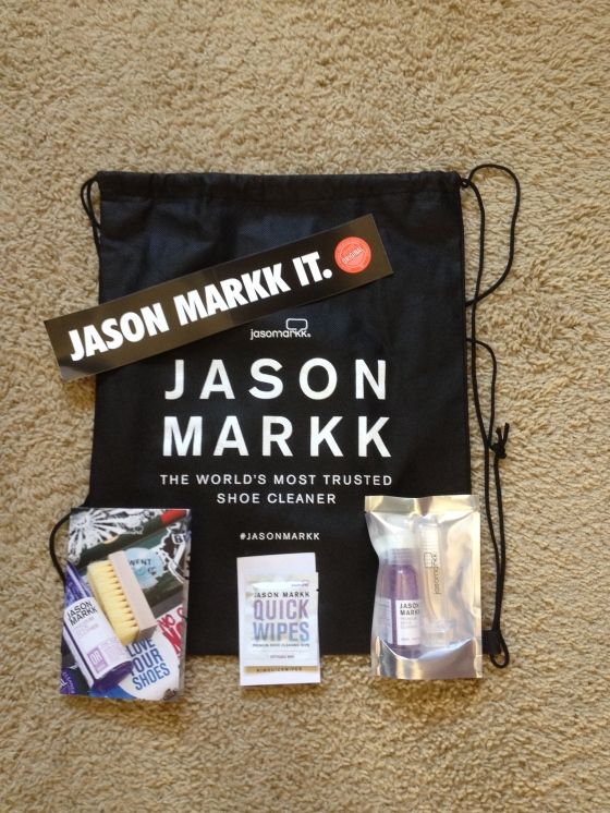 Some Jason Markk goodies that were given away at the door