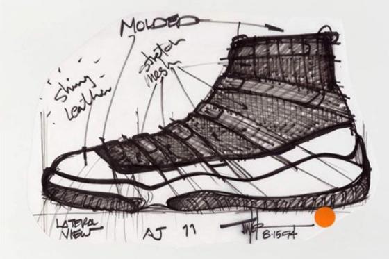 air-jordan-xi-original-sketches-by-tinker-hatfield-1