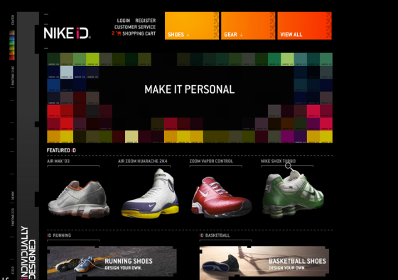 // : Customizable Features in the Sneaker Market : //