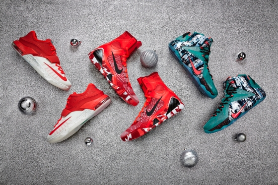 // : Nike Basketball 2014 Christmas Collection : //
