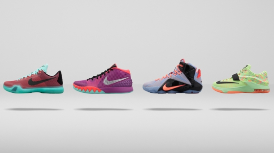 online store 180bc 21347 Nike Basketball 2015 Easter Collection